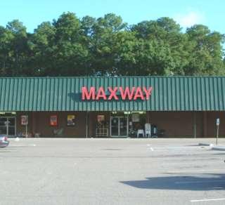 Maxway clothing store